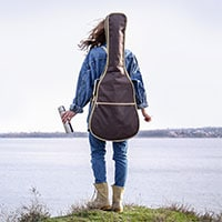 traveling with guitar