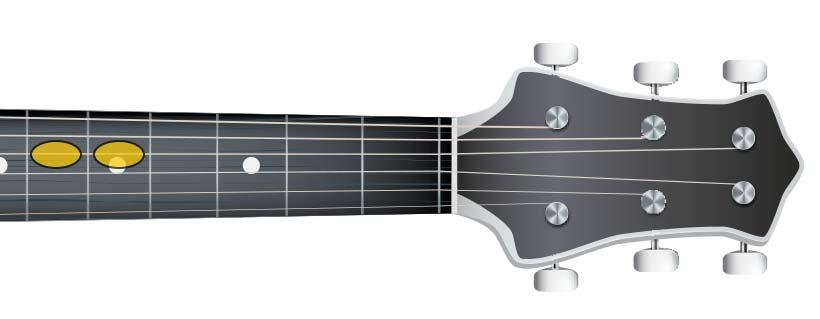 guitar same semi tone (G G#)