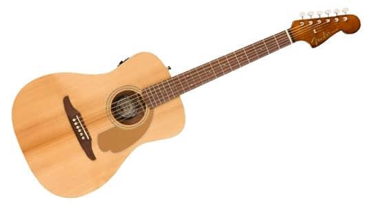 fender malibu guitar