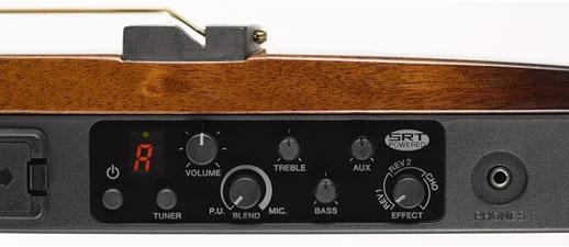 yamaha silent guitar controls